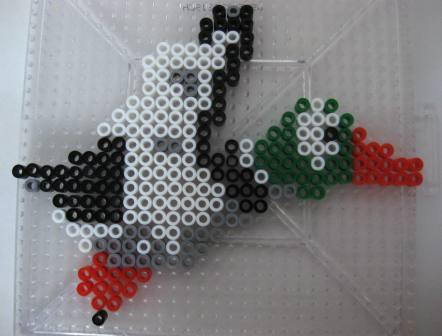 Duck (Duck Hunt) - Custom Fuse Bead Set