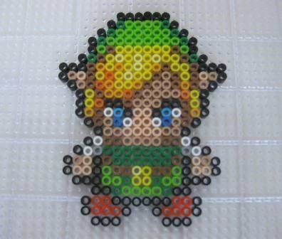 Link (Legend of Zelda) - Custom Fuse Bead Set