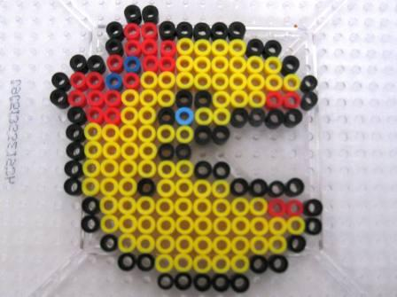 Ms. Pac-Man (Ms. Pac-Man) - Custom Fuse Bead Set