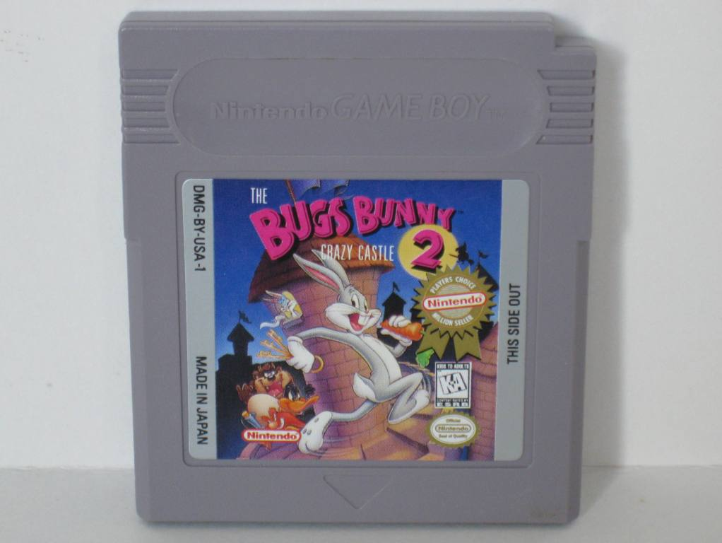 Bugs Bunny Crazy Castle 2 - Gameboy Game
