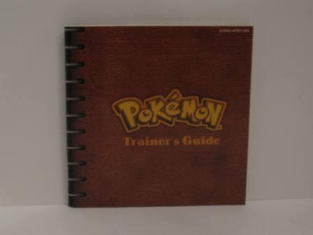 Pokemon Blue Version Trainers Guide - Gameboy Manual