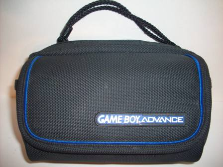 GBA Storage & Travel Case (Black/Blue) - Gameboy Adv. Accessory