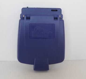 Game Boy Advance Screen Cover (Blue) - Gameboy Adv. Accessory
