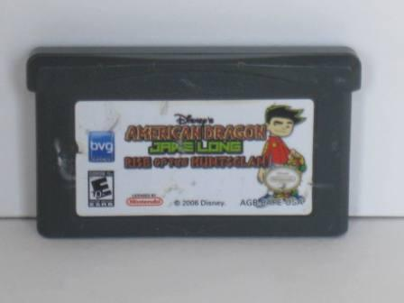 American Dragon: Jake Long - Gameboy Adv. Game