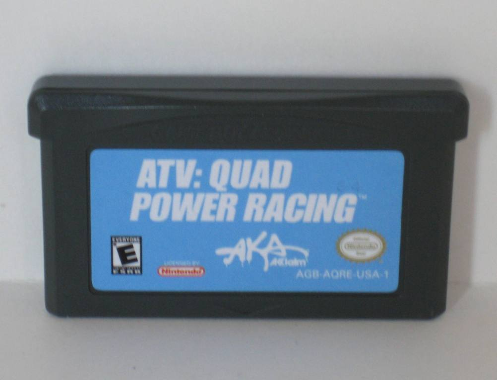 ATV: Quad Power Racing - Gameboy Adv. Game