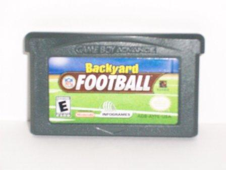 Backyard Football - Gameboy Adv. Game