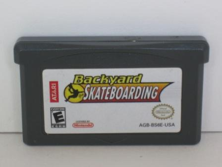 Backyard Skateboarding - Gameboy Adv. Game