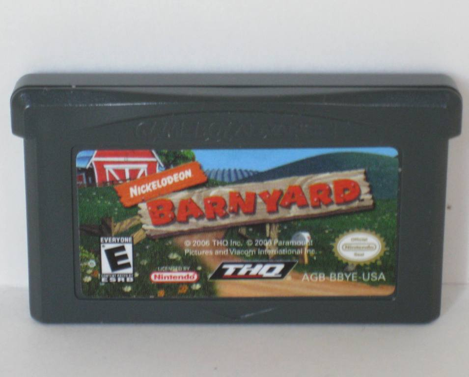 Barnyard (Nickelodeon) - Gameboy Adv. Game