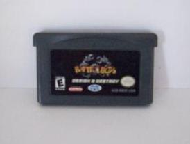 BattleBots: Design and Destroy - Gameboy Adv. Game