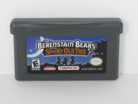 Berenstain Bears and the Spooky Old Tree - Gameboy Adv. Game