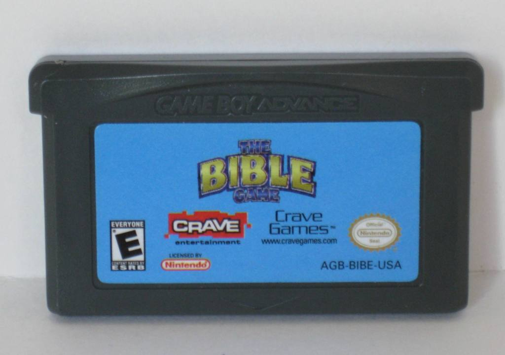 Bible Game - Gameboy Adv. Game