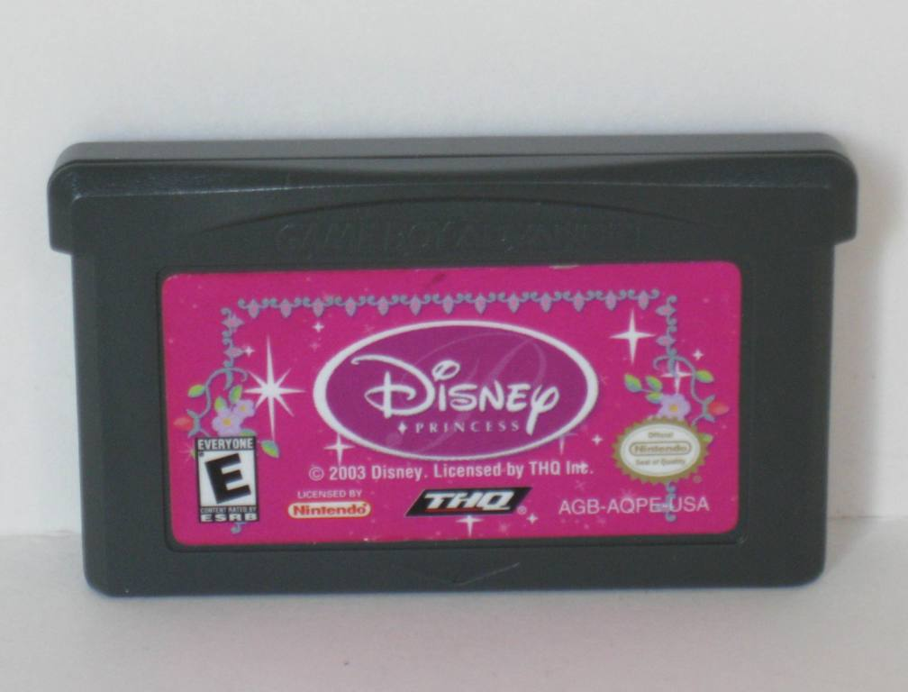 Disney Princess - Gameboy Adv. Game