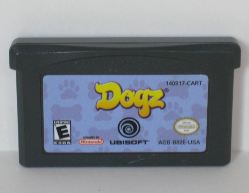 Dogz - Gameboy Adv. Game