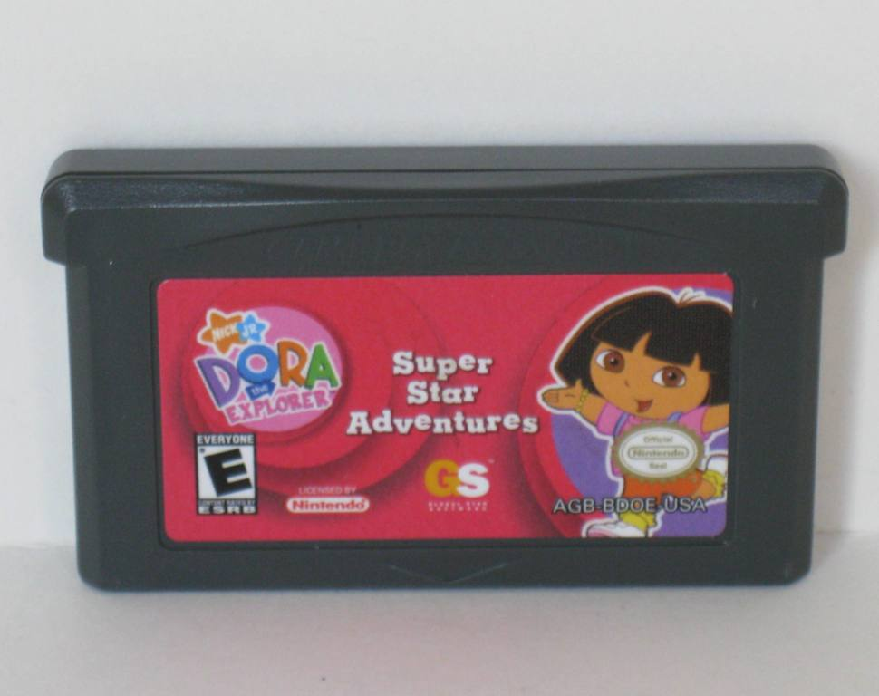 Dora the Explorer: Super Star Adventures - Gameboy Adv. Game