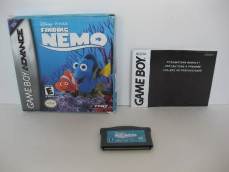 Finding Nemo (Boxed - no manual) - Gameboy Adv. Game