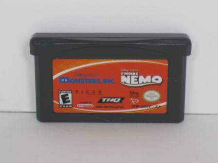 Finding Nemo/Monsters, Inc. - Gameboy Adv. Game
