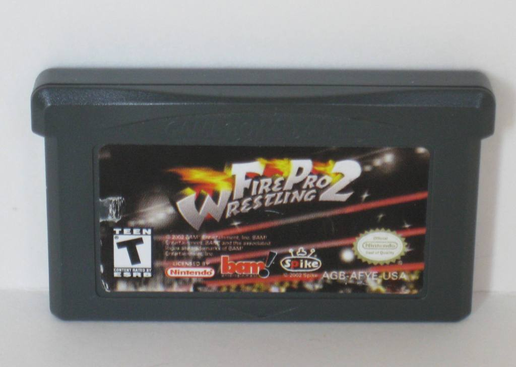Fire Pro Wrestling 2 - Gameboy Adv. Game