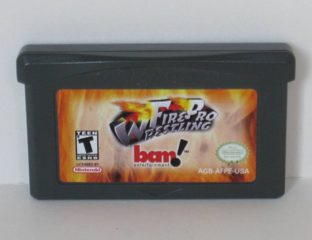 Fire Pro Wrestling - Gameboy Adv. Game