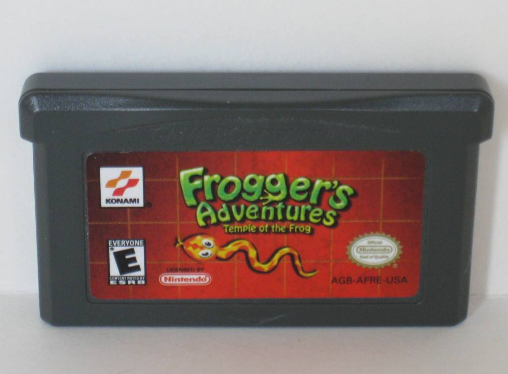 Froggers Adventures: Temple of the Frog - Gameboy Adv. Game