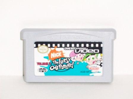 GBA Video: Fairly Odd Parents Vol. 2 - Gameboy Adv. Game