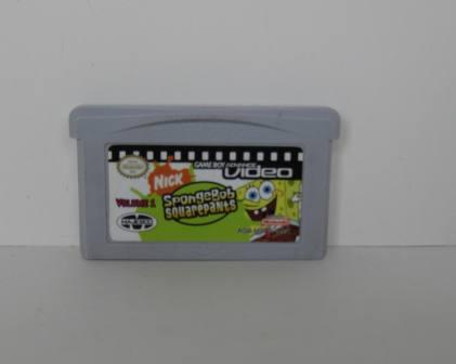 GBA Video: SpongeBob SquarePants Vol. 1 - Gameboy Adv. Game