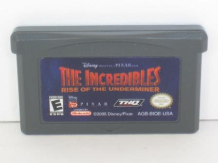 Incredibles: Rise of Underminer - Gameboy Adv. Game