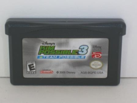 Kim Possible 3: Team Possible - Gameboy Adv. Game