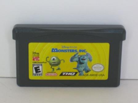 Monsters, Inc. - Gameboy Adv. Game