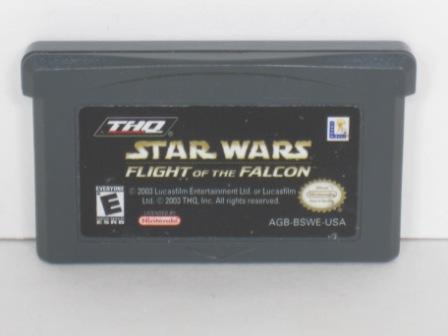 Star Wars: Flight of the Falcon - Gameboy Adv. Game