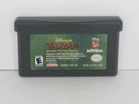 Tarzan: Return to the Jungle - Gameboy Adv. Game
