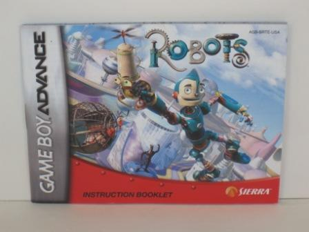 Robots - Gameboy Adv. Manual