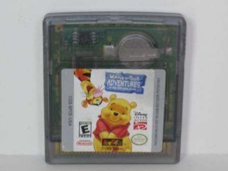 Winnie the Pooh Adventures: 100 Acre Woods - Gameboy Color Game