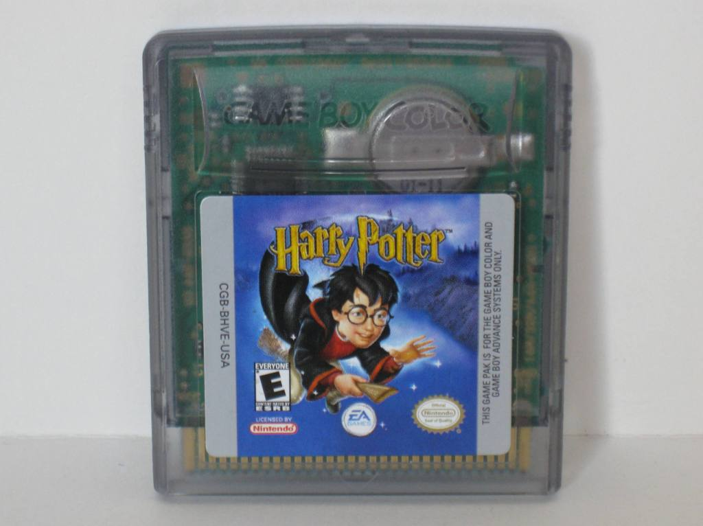 Harry Potter and The Sorcerers Stone - Gameboy Color Game