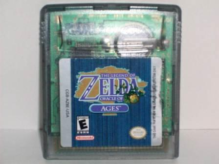 Legend of Zelda, The: Oracle of Ages - Gameboy Color Game