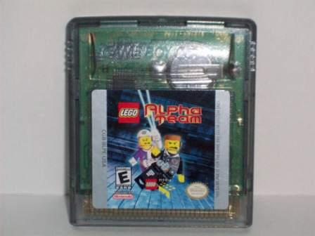 Lego Alpha Team - Gameboy Color Game