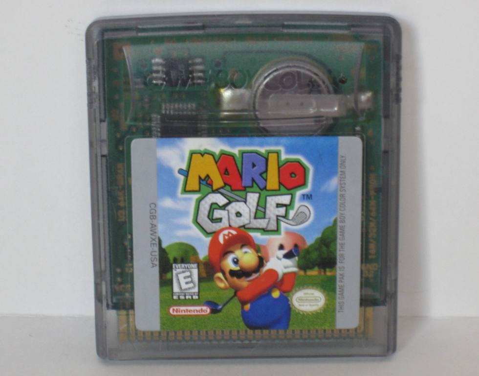 Mario Golf - Gameboy Color Game