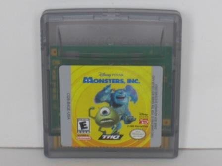 Monsters,  Inc. - Gameboy Color Game