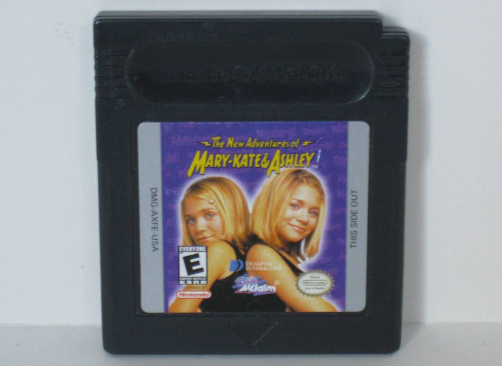 New Adventures of Mary-Kate and Ashley, The - Gameboy Color Game