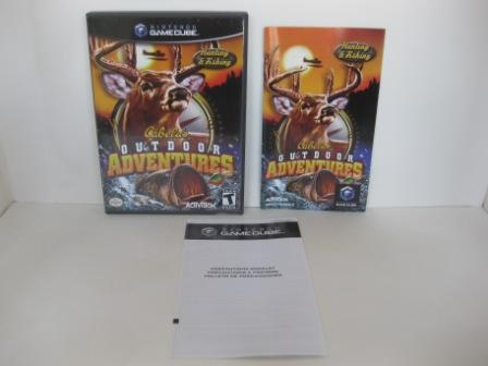 Cabelas Outdoor Adventures (CASE & MANUAL ONLY) - Gamecube