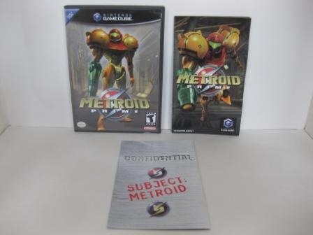 Metroid Prime (CASE & MANUAL ONLY) - Gamecube