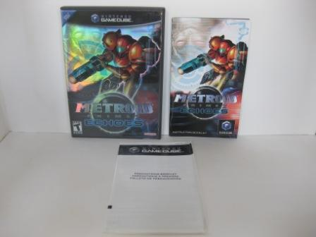 Metroid Prime 2: Echoes (CASE & MANUAL ONLY) - Gamecube