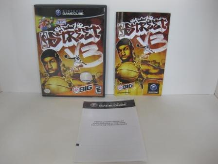 NBA Street Vol. 3 (CASE & MANUAL ONLY) - Gamecube