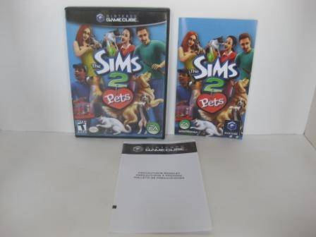 Sims 2, The: Pets (CASE & MANUAL ONLY) - Gamecube