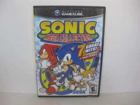 Sonic Mega Collection (CASE ONLY) - Gamecube