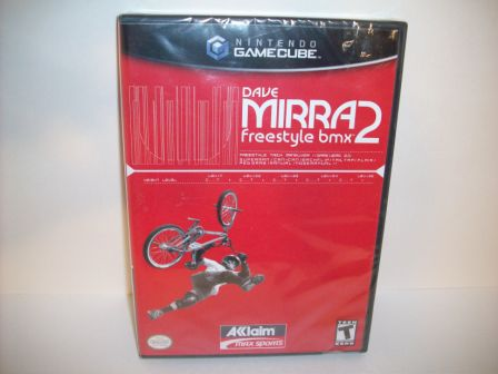 Dave Mirra Freestyle BMX 2 (SEALED) - Gamecube Game