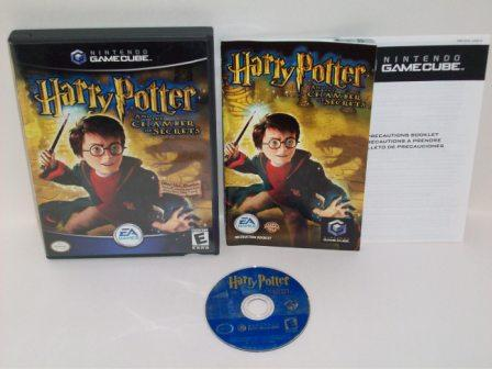 Harry Potter and the Chamber of Secrets - Gamecube Game