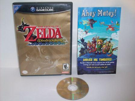 Legend of Zelda, The: The Wind Waker - Gamecube Game