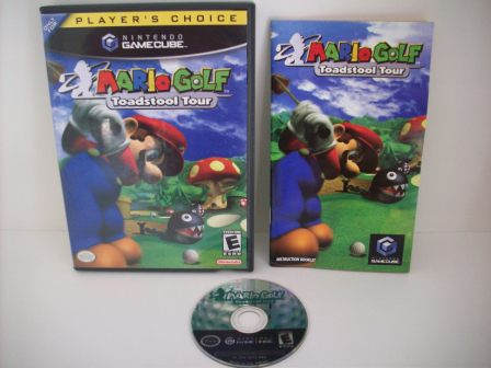 Mario Golf: Toadstool Tour - Gamecube Game