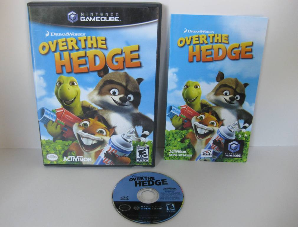 Over The Hedge - Gamecube Game