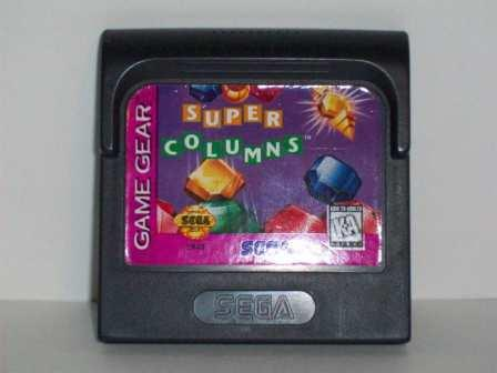 Super Columns - Game Gear Game